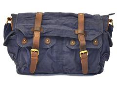 J Campbell Messenger Bag, Navy