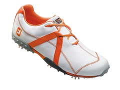 M Project Golf Shoe - White/Orange