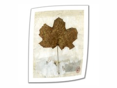 Golden Leaf - 18x14 Rolled Canvas