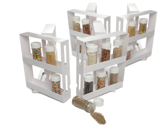Swivel Store Deluxe 4pk W Spice Bottles