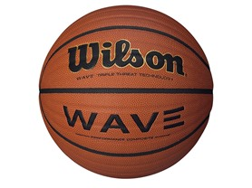 "Wilson NCAA Wave 28.5"" Microfiber Basketball"