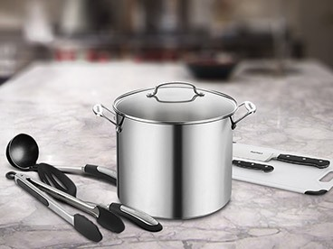 Cuisinart Stockpot w/ Kitchen Tools