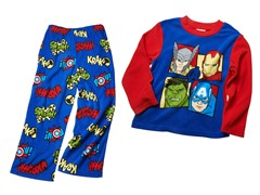 Avengers 2-Piece Fleece Set (4-10)