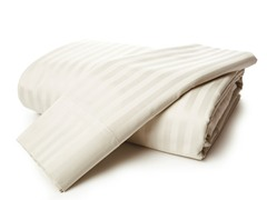 800TC Egyptian Cotton- Beige Stripe-King