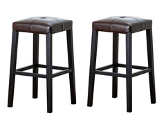 "Set of 2: 30"" Bar Stool (2-Colors)"