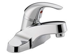 Single Lever Lavatory Faucet, Chrome