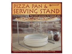 Pizza Serving Stand & Pan
