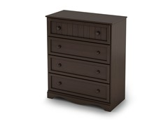 Savannah 4 Drawer Chest - Espresso