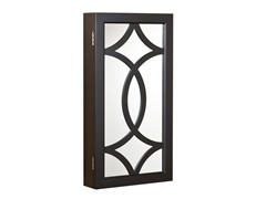Geneva Wall Mount Jewelry Mirror