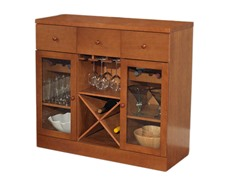 Wine Storage Cabinet- Oak
