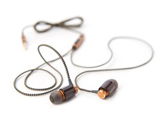 ETZ Mini Mahogany Earphones