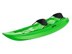 Lifetime 90116 Tandem Kayak with Back Rests, Green