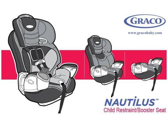 graco nautilus plus 3 in 1 car seat rust kids toys. Black Bedroom Furniture Sets. Home Design Ideas