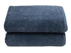 700GSM Soft Twist Bath Sheets-S/2-Midnight