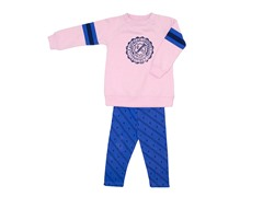 2-Pc Set Pink Fleece (12M)