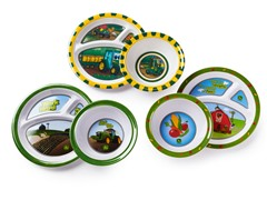 6-Piece Plate/Bowl Set - John Deere