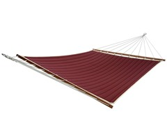 Double Quilted Hammock, Dark Wine