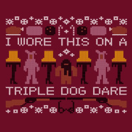 triple dog dare sweater