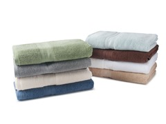 MicroCotton 6-Piece Towel Set - 8 Colors