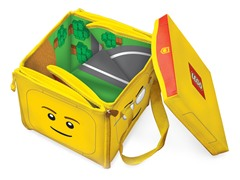 LEGO Head Toy Tote & Playmat