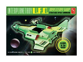 AMT Interplanetary UFO Mystery Ship Model Kit