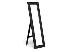 McLean Dk Brown Mirror w/Built-In Stand