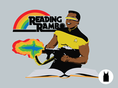 Reading Rambo Unisex Tank