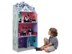 Monster Mansion Dollhouse w/ Furniture