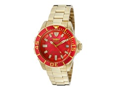 Women's Pro Diver Watch, Red