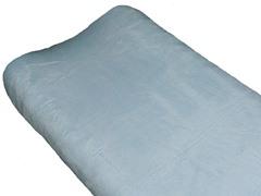 Minky Changing Pad Cover - Blue