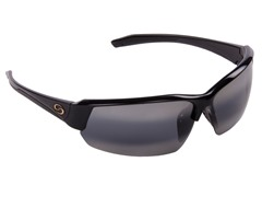 Semi Rimless Shiny Black Gray