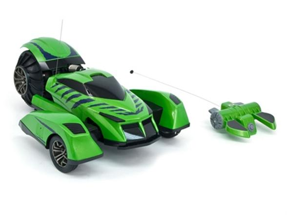 Tyco Green Terrainiac Rc Vehicle