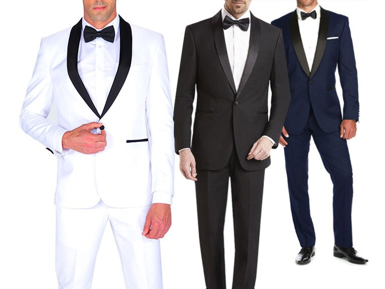 Classic and Slim Fit 2-Piece Tuxedos