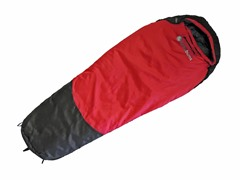 "Lucky Bums Kids 64"" Sleeping Bag - Red"