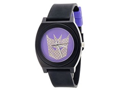 Black/Purple Decepticon Fashion Watch