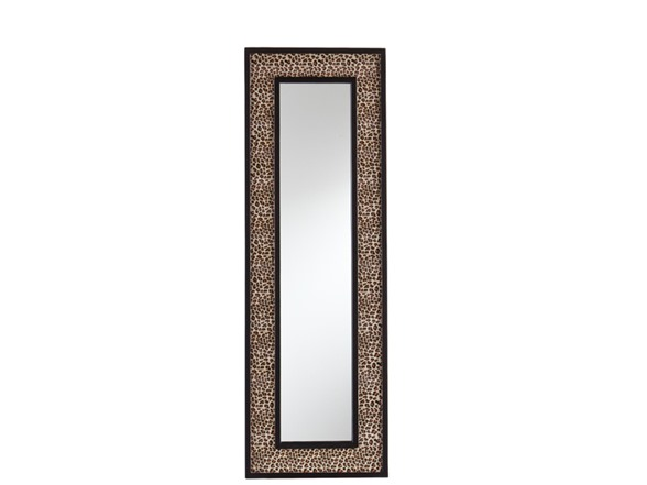 Leopard wall mirror