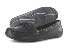 Women's Catalina Boat Shoe - Black