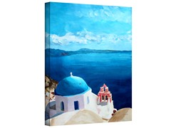 Oia Santorini w/Blue Sky (3 Sizes)