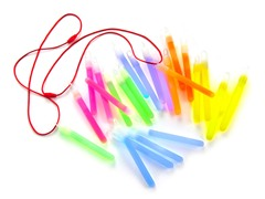 "4"" Glow Sticks - Assorted Colors - 24pk"