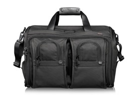 Tumi Luggage Alpha Deluxe Carry-on Satchel