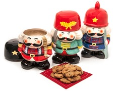 Ceramic Nutcracker- Set of 3