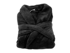 Boston Robe-Black-Small/Medium