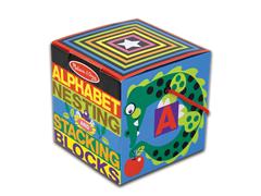 Alphabet Nesting Blocks