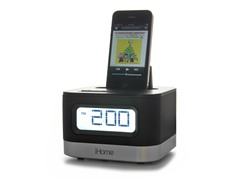Stereo Alarm Clock for iPod/iPhone
