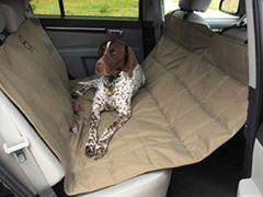 Motor Trend Hammock Seat Protector, Tan