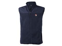 Fila Men's Microfleece Vest - Peacoat