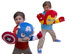 SuperHero Squad Pillow Puppets 2-Choices