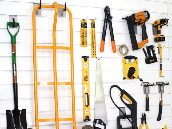 Proslat 8 Garage Wall Kit With 20 Hooks