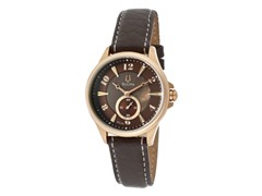Bulova Brown Genuine Leather