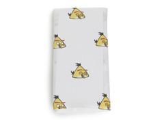 Yellow Angry Bird Swaddling Blanket